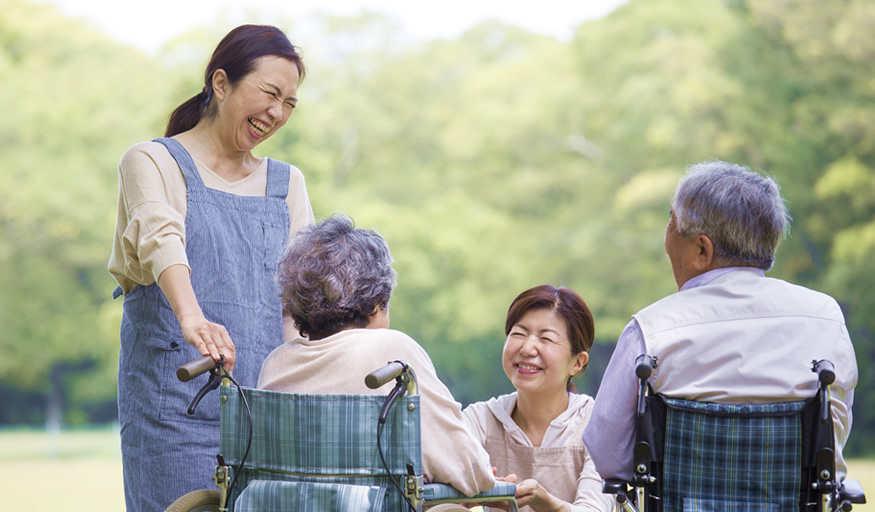 介護事業を展開できるよう全面的にサポート