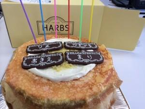 スタッフの誕生日